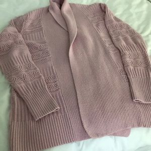 Women's mauve/pink Sonoma sweater